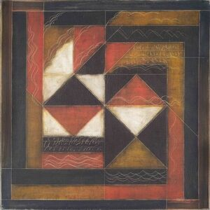 Akkitham Narayanan, 'Geometric configurations of abstract forms, oil painting by Indian Artist Akkitham Narayanan', 2006