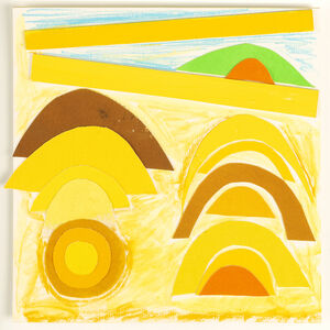 Sir Terry Frost, 'Sun over the Sea', ca. 1990