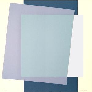 Henryk Stażewski, 'Composition of planes ', 1980