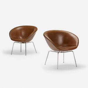 Arne Jacobsen, 'Pot chairs, pair', 1959