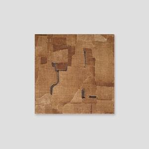 Sidival Fila, 'Senza Titolo (serie marrone 3)', 2020