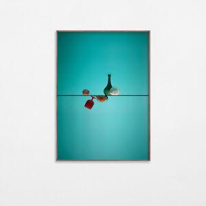 Alejandro Almanza Pereda, 'A glass of fruit (copa, frutero, uvas, manzana, cereza)', 2016