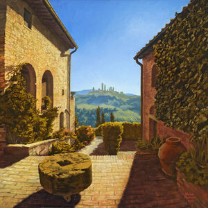Michela  Mansuino, '(Let Us Contemplate) The Courtyard at Montagnana', 2012