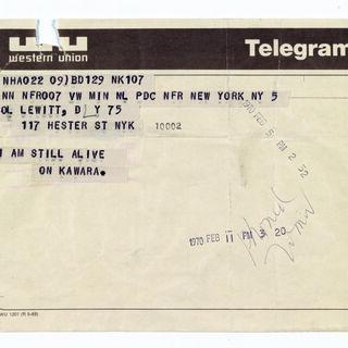 Telegrams
