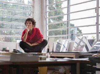 In the Studio with Veteran São Paulo Artist Edith Derdyk