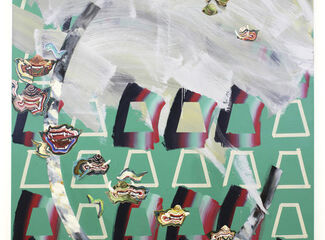 Two Emerging Painters at Hong Kong's Art Central Put Pattern in the Crosshairs