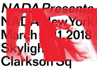 Programming: NADA Presents at NADA New York 2018