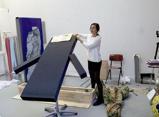 In Catherine Biocca's SUNDAY Art Fair Installation, Hellenic Sculpture and Post-Internet Art Collide