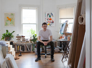 Conor Backman Channels Trompe L'Oeil and the Hudson River School into Contemporary Paintings