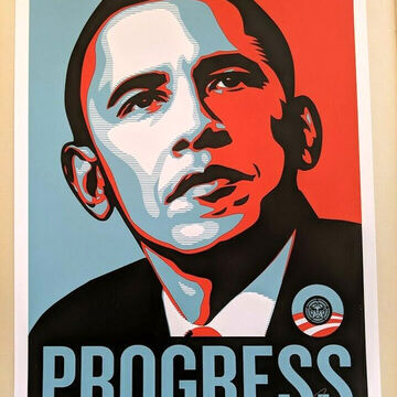 Shepard Fairey Obey S Barack Obama For Sale On Artsy