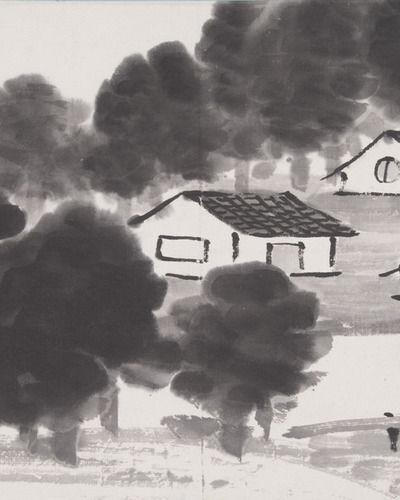 """""""Isamu Noguchi and Qi Baishi: Beijing 1930"""" at the Noguchi Museum"""