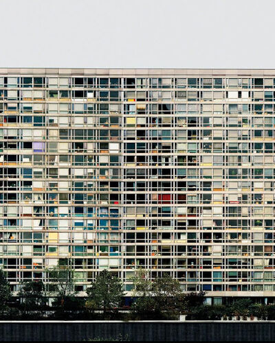 #10: Andreas Gursky, Paris, Montparnasse (1993)