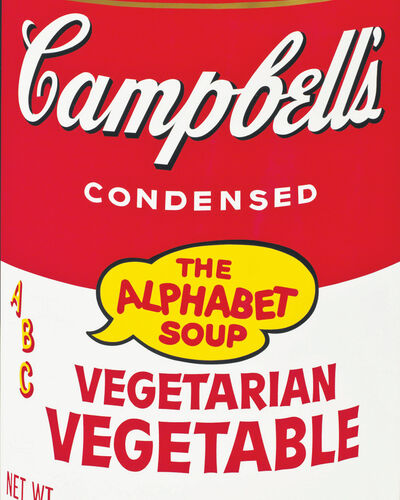 #6: Andy Warhol, Soup Cans (1962)