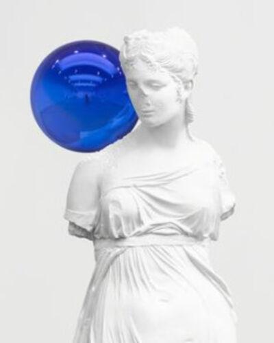 Jeff Koons' Gazing Balls Glimmer at Art Basel