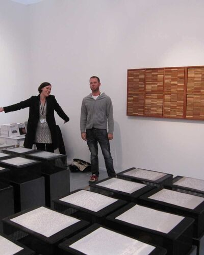 Behind the Scenes at Frieze with Goodman Gallery
