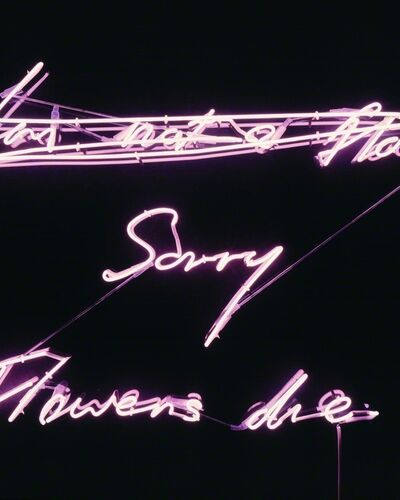 Tracey Emin Neons Light Up MOCA North Miami