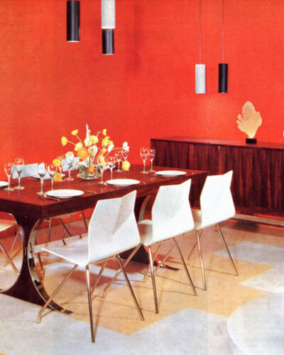 Rare Design from René-Jean Caillette, Postwar Master of Clean Lines and Modern Materials