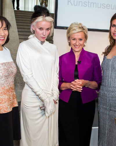 Matthew Barney Honored at Dinner Presented by Tina Brown, Daphne Guinness, Dasha Zhukova, and Credit Suisse