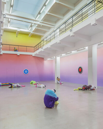 Ugo Rondinone Fills a Museum with Sleeping Clowns