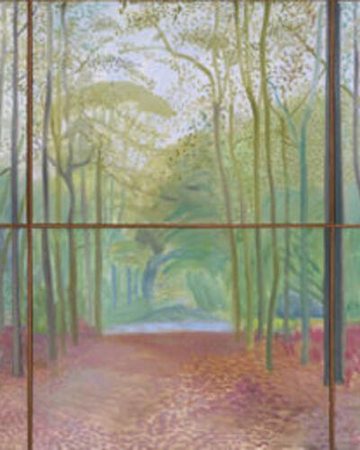 Hockney, Nash, Gabo, & More at Annely Juda's Art Basel Booth