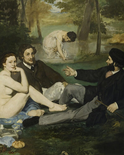 #1: Edouard Manet, Luncheon on the Grass (1863)