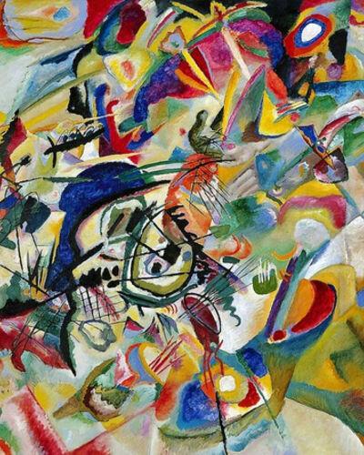 #5:Wassily Kandinsky, Composition VII (1913)