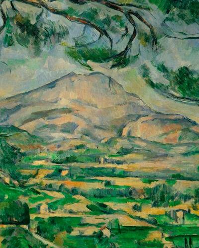 #2: Paul Cézanne, Mont Sainte-Victoire (1885-1887)