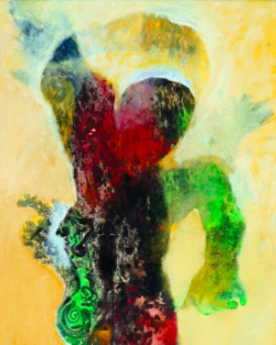 Opening Reception | Bards - Alixe Fu's Postexpressionism Painting Exhibition
