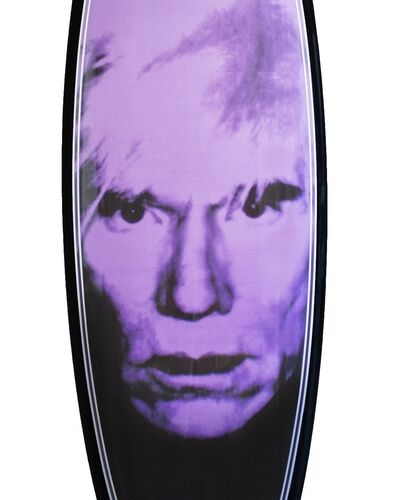 Andy Warhol, on a Surfboard?