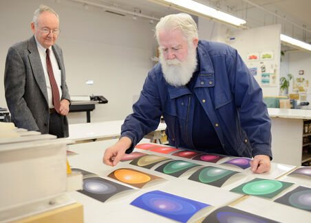 James Turrell Presents his 'Aten Reign' in a New Light: As a Print