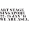 Logo of Art Stage Singapore 2015