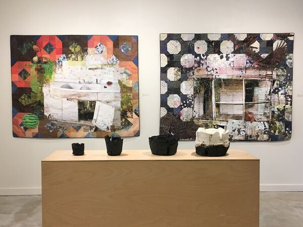 Cover image for July exhibition: Gabe Brown, Jeana Klein, and Adam Knoche