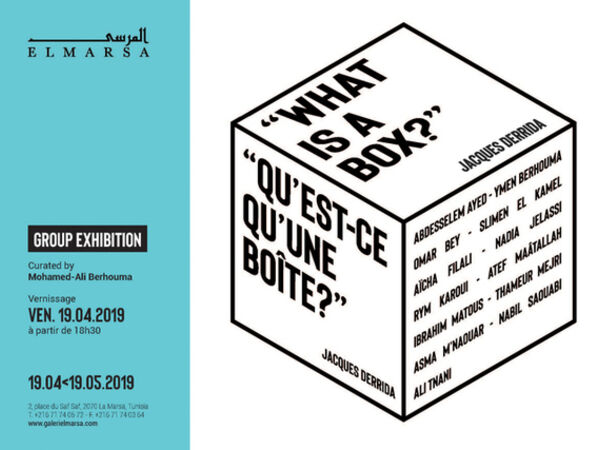 """Cover image for """"What is a box?"""" Jacques Derrida"""