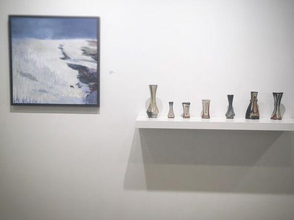 Cover image for November/December exhibition featuring work by Shar Coulson, Mandy Cano Villalobos, Lisa York