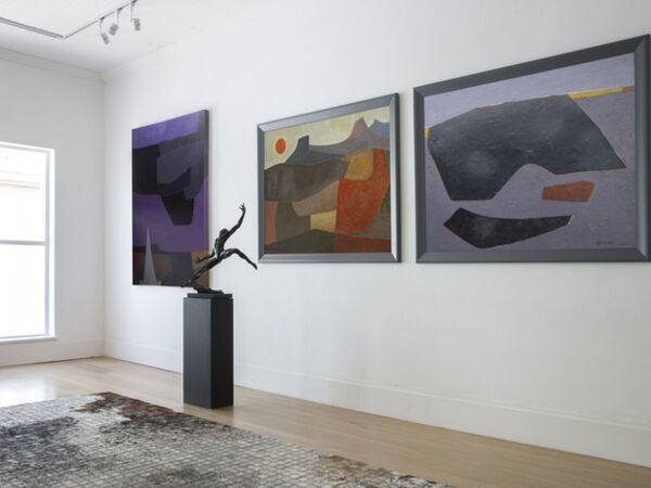 Cover image for ERIK LAUBSCHER,  THE LANDSCAPES: A SELECTION OF PAINTINGS FROM 1946 – 2012