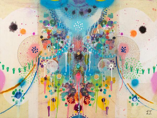 Cover image for LIZ TRAN: COSMIC EXPLORATIONS   TIFFANY TANG: MOON JARS
