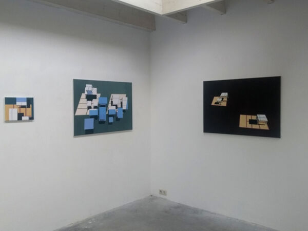 Cover image for Duo exhibition by Mariës Hendriks and Coen Vernooij