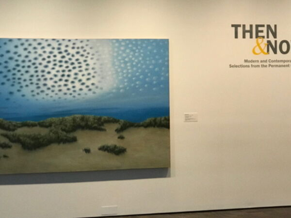 Cover image for Then and Now: Modern and Contemporary Selections from the Permanent Collection