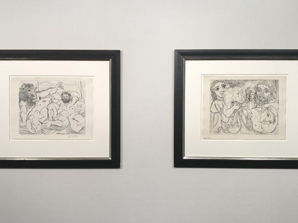 Cover image for Picasso - From Minotaur to Guernica
