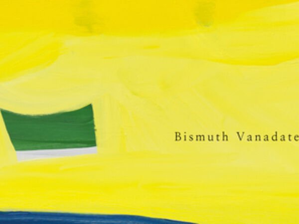 Cover image for Bismuth Vanadate Yellow