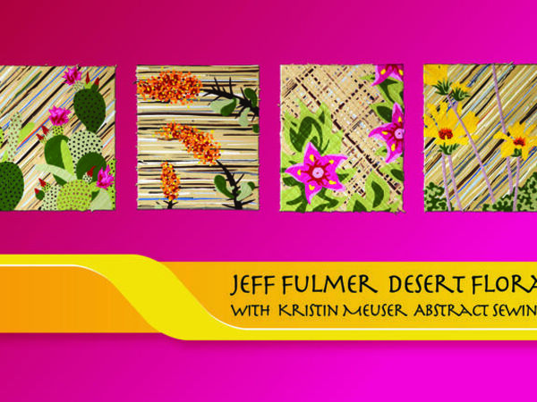 Cover image for Desert Flora and Abstract Sewing