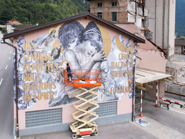 Cover image for Triennale of Maroggia. Between Street and Street Art