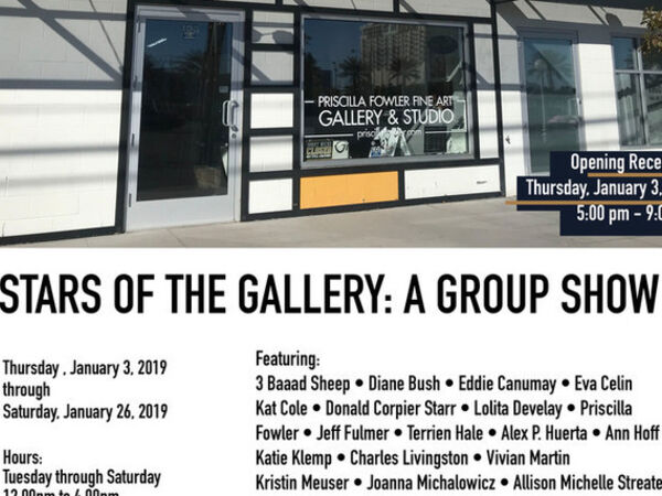Cover image for STARS OF THE GALLERY: A GROUP SHOW