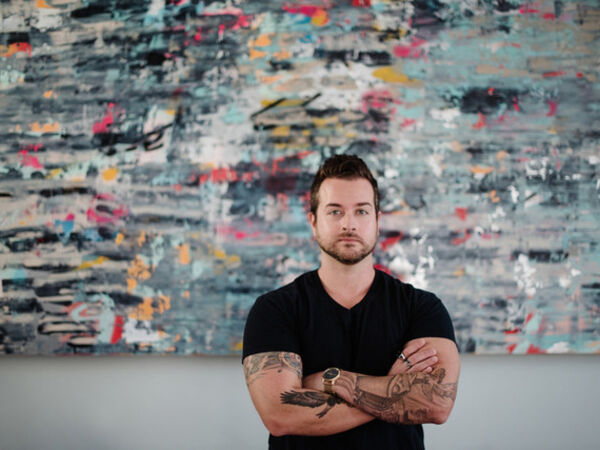 Cover image for LAYERED: A Solo Exhibition of Jeremy Mangerchine