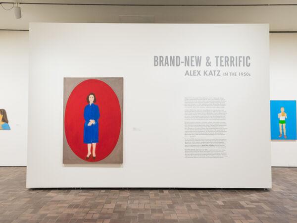 Cover image for Brand-New & Terrific: Alex Katz in the 1950s