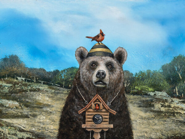 Cover image for Tyson Grumm - Bear in mind