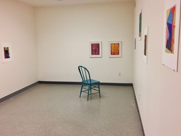 Cover image for Transitions: Color + Space, Smaller Works by Warren Rosser