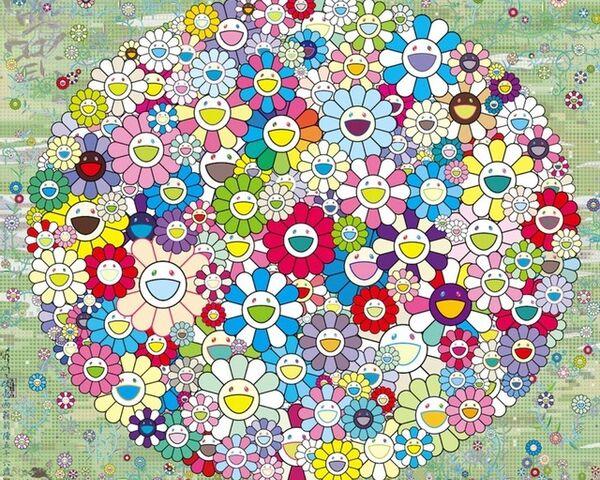 Takashi Murakami: Flowers Smile!