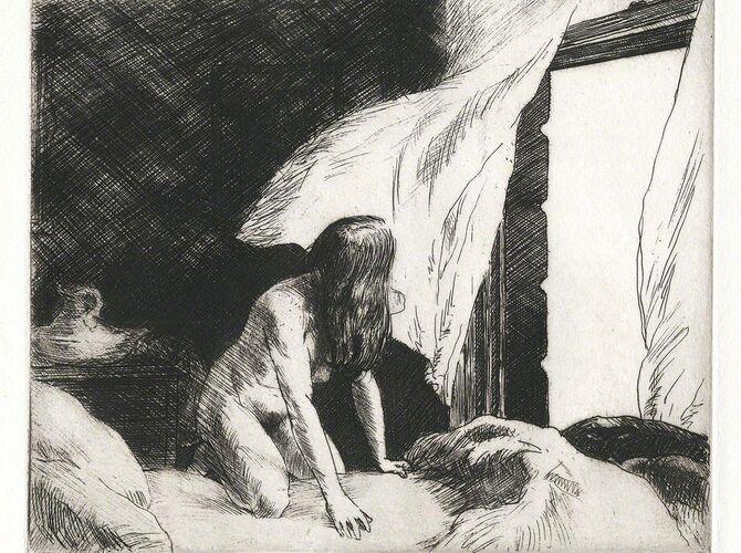 Evening Wind by Edward Hopper