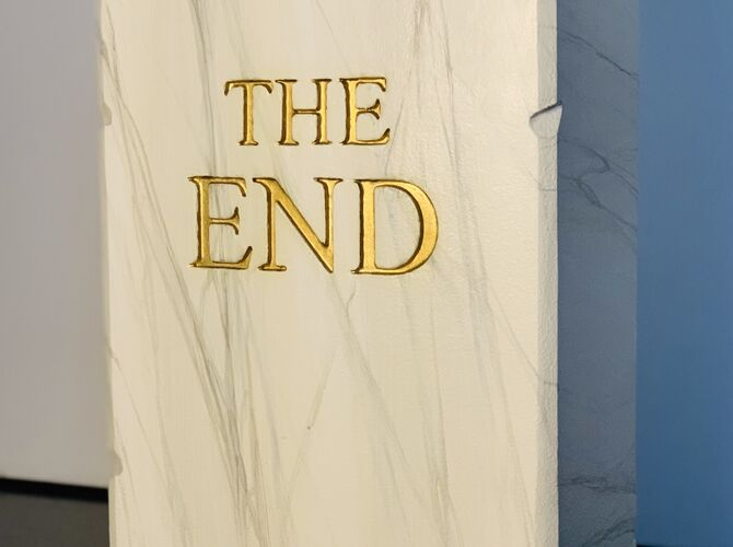 The End by Maurizio Cattelan